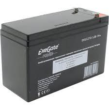 <b>Аккумулятор для ИБП</b> 12V 7Ah <b>Exegate</b> EG7-12 — купить, цена и ...