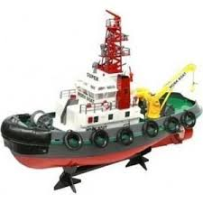 <b>Радиоуправляемый буксир Heng Long</b> Seaport Work Boat 40Mhz ...