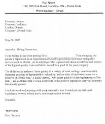Job Application Letter Sample Pdf   Cover Letter Templates Columbia College