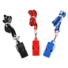 Mesuca Joerex 2pcs Plastic Sports Training Whistles with Lanyard ...