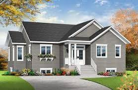 Single Level House Plans w o Garage from DrummondHousePlans comMainville Affordable   bedroom Bungalow  large master suite  home office  large