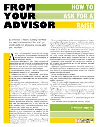 how to ask for a raise article com for a complete list of from your advisor topics click here