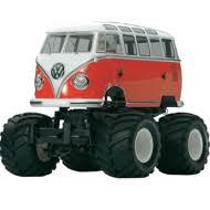 <b>Радиоуправляемый внедорожник Tamiya XB</b> VW T1 Wheelie ARR ...