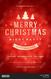 christmas night party poster or flyer vector illustration merry christmas night party poster or flyer vector illustration merry christmas design template vector background