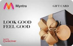 Myntra Physical Gift Card Price in India - Buy Myntra Physical Gift ...