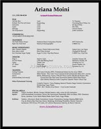 modeling resume for beginners cipanewsletter modeling resume sample sample acting resume template acting resume