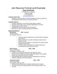 examples of resumes job resume starbucks barista skills example 89 fascinating example of job resume examples resumes