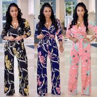 Wholesale <b>dress</b> floral jumpsuits - Group Buy Cheap floral jumpsuits ...