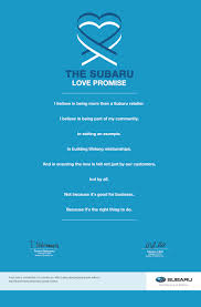 subaru love promise begins basin subaru in midland tx the subaru love promise