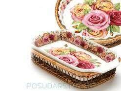 <b>Форма</b> для запекания <b>MAYER & BOCH</b> Розы — купить по ...