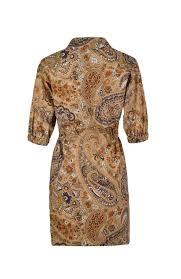 Платье-<b>рубашка из хлопка с</b> узором ETRO