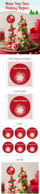 best images about holiday party ideas cookie personalize your christmas and holiday decorations your own diy toppers they re so easy to make avery labels and printable designs