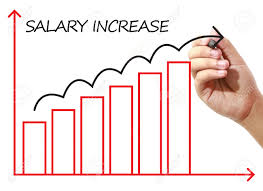 businessman drawing salary increase graph on virtual screen businessman drawing salary increase graph on virtual screen business banking finance and investment