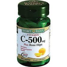 (Нэйчес баунти) Витамин С + Шиповник таблетки <b>500 мг</b> 100 шт.