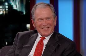 george w bush laughs at trump jokes reveals if impressions ever george w bush laughs at trump jokes reveals if impressions ever bothered him com