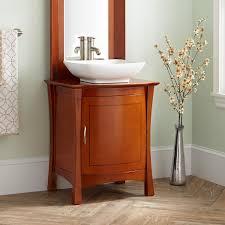 inspiration bathroom vessel vanity sink cabinet quot frisco vessel sink vanity cherry