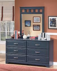 dresser and bedroom mirror ashley leo twin bedroom set