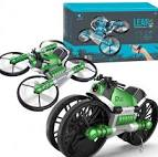 <b>2.4G Folded Deformable Motorized</b> Four-axis Quadcopter Combo ...