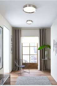 sophisticated yet simple the bespin flush mount ceiling light from tech lighting features a smoothly ceiling lighting ideas