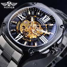 T-<b>WINNER Men'S</b> Brand <b>Watch</b> Stainless Steel Business Automatic ...
