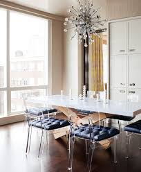 Acrylic Dining Room Chairs Dining Clear Ghost Chairs Dining Room Contemporary With Wood Base