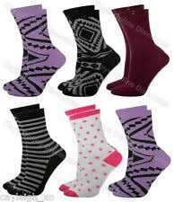 Socks <b>12 pairs Ladies</b> & Girls Novelty Coloured Argyle Socks UK 4 ...