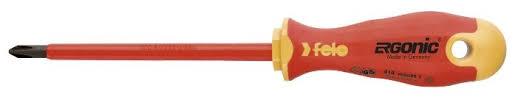 <b>Отвёртка</b> крестообразный наконечник <b>Felo Ergonic</b> PH1x80 ...