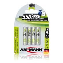 <b>Аккумуляторы AA</b> / AAA <b>ANSMANN</b> — купить в интернет ...