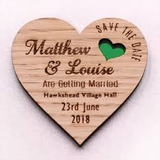 wooden heart save the date wedding magnets coloured hearts nivi wooden heart save the date wedding magnets coloured hearts nivi design