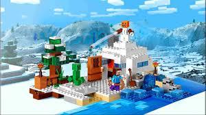 <b>LEGO Minecraft</b> 21120 Cнежное убежище Обзор <b>конструктора</b> ...