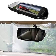 "EKYLIN 7"" Car Auto <b>Monitor</b> in-Mirror <b>LCD Screen</b> HD 800x480 <b>12V</b> ..."