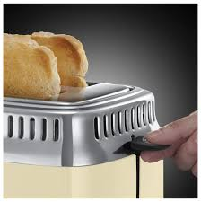 Buy <b>Russell hobbs Vintage</b> cream <b>21682-56</b> toaster