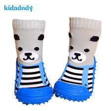 Buy Newborn <b>Anti Slip</b> SocksToddler Indoor Floor Shoes Infant ...