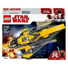 <b>LEGO 75214 Star Wars</b> Anakin's Jedi Starfighter - Smyths Toys