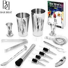 Premium 14 Piece Cocktail Making Set & Bar Kit by ... - Amazon.com