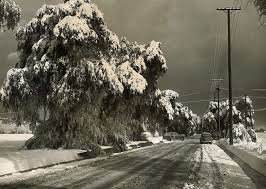 why doesn t it snow in l a anymore kcet a wintry scene in canoga park on jan 13 1949