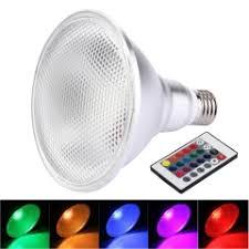 E27 20W PAR38 RGB LED Light Bulb - SUNSKY