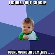 Figured out Google Found wonderful memes - Success Kid | Meme ... via Relatably.com