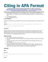middle school paper and research paper on pinterest example of apa citation in paper  apa citation handout more