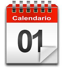 Resultado de imagen de calendario