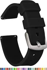 GadgetWraps 22mm Silicone Watch Band Strap with ... - Amazon.com