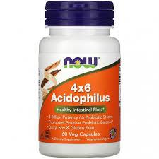 ROZETKA | Ацидофилус NOW Foods, <b>4x6 Acidophilus</b>, 4 ...