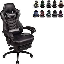 Racing Video Gaming Chair High Back Large Size ... - Amazon.com