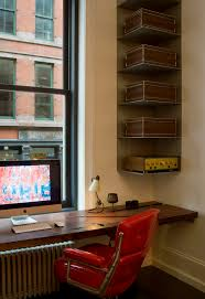 corner shelves home office industrial interior designs with built in desk built in desk built home office