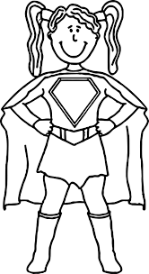 Small Picture Superheroes Super Hero Girl Coloring Page Wecoloringpage