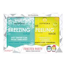 Buy <b>Sephora Collection Frosted Party</b> Freezing & Peeling Mask Duo ...
