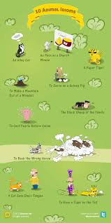animal idioms and their meanings newsletter english 1