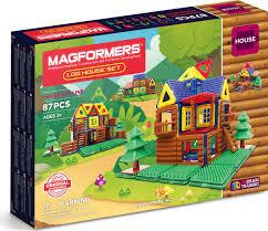 <b>Magformers Магнитный конструктор Log</b> House Set