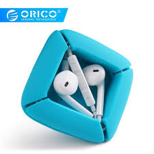 <b>ORICO</b> ELR1 Earphones Organizer <b>Silicone Cable Winder</b> Cable ...
