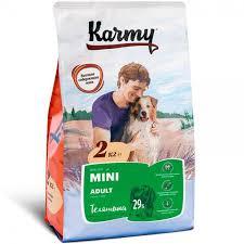 <b>Корм Karmy Mini</b> Adult для Собак Мелких Пород с Телятиной ...